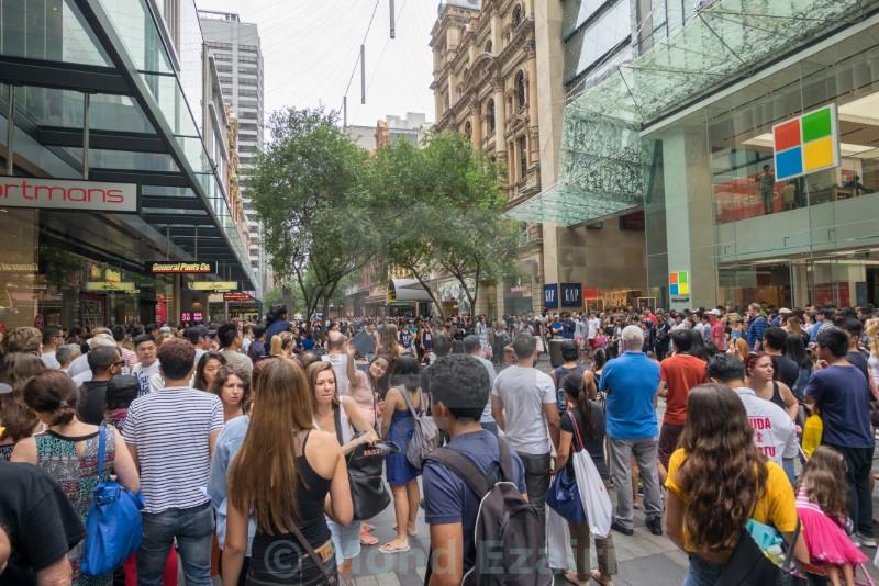 sydney crowd