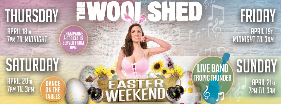 Easter Weekend Woolshed Cairns